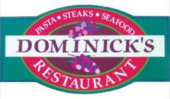 Dominick's Restaurant$20 Gift Certificate