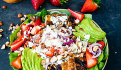 Strawberry & Avocado Chicken Salad