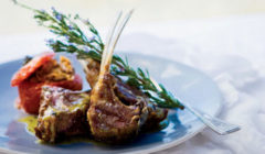 Lamb Chops Braised In Pomegranate