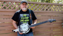 Don't Drop Anything &#8230; <Br>or else Terry Johnson will make a guitar out of it.