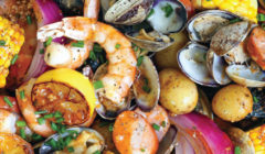 Sheet Pan Clam Bake