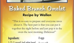 May 2015 Baked Brunch Omelet