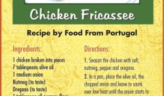 July 2015 Chicken Fricassee