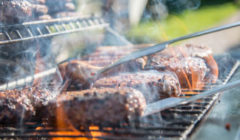 Pork Chops Stuffed with Smoked Gouda & Bacon